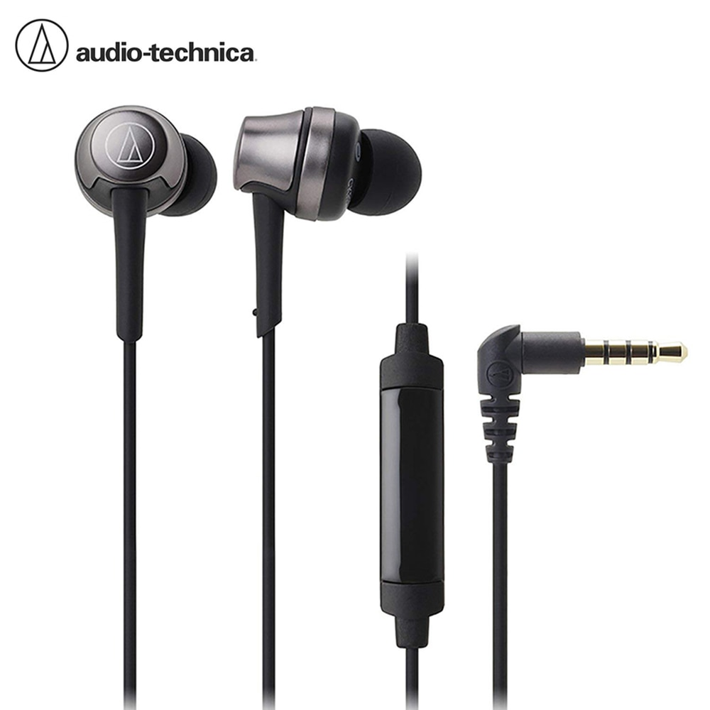 Audio Technica ATH-CKR50iS Deep Bass Wired Earphones 3.5mm HIFI In-ear Sport Music Earbuds High Resolution Headset with Mic enlarge