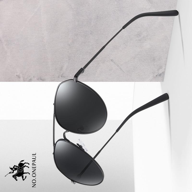 NO.ONEPAUL For Men Men's Sunglasses Brand Designer Pilot Polarized Male Sun Glasses Eyeglasses gafas oculos de sol masculino