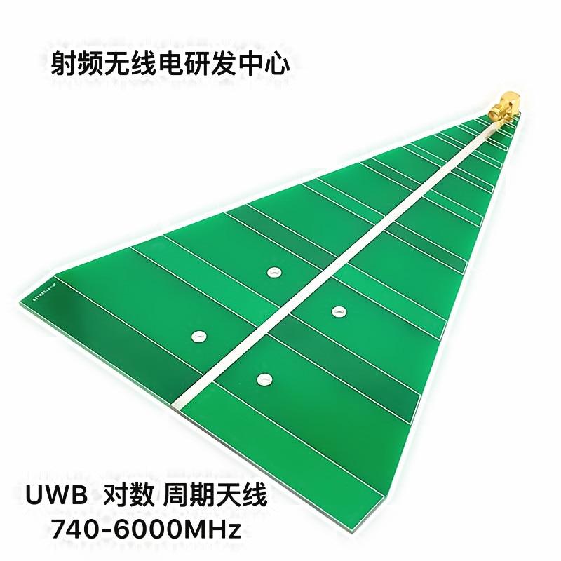 UWB هوائي فترة تسجيل النطاق العريض جدا 740MHz-6000MHz