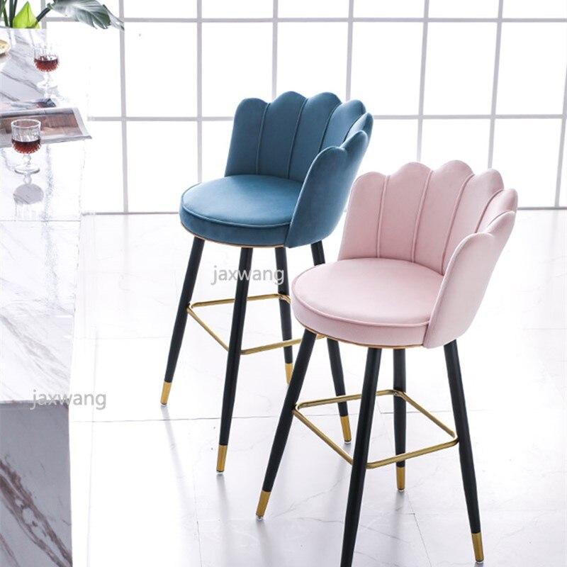 Роскошный светильник барный стул обеденный гостиная из цельного дерева подходит