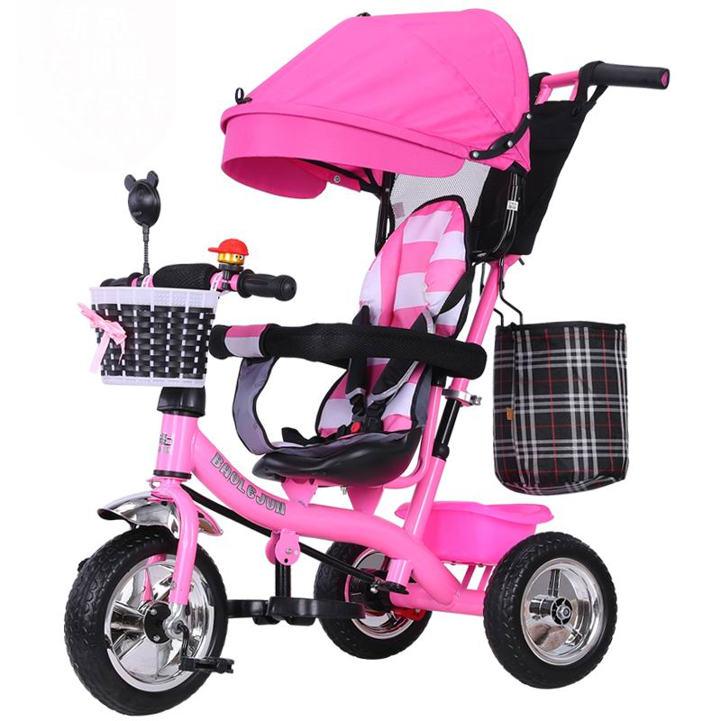 Baby tricycle Special offer trolley good quality baby stroller baby carriage bike bicycle for 6 month--6 years old