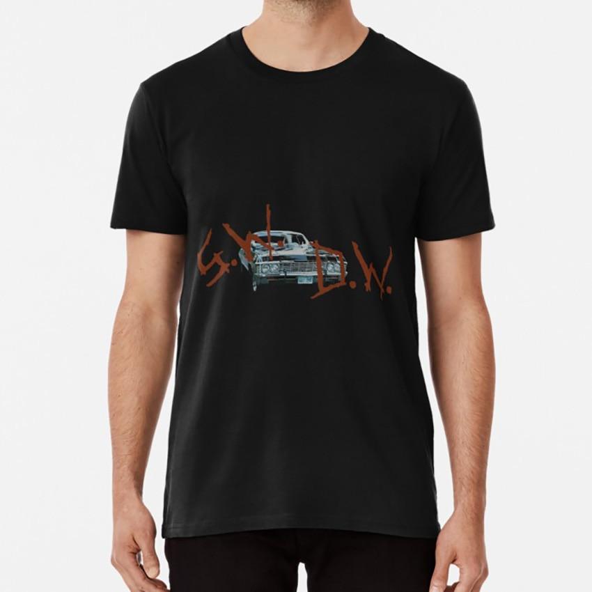 S W D W Impala T camisa 67 chevy impala sam winchester dean winchester sobrenatural