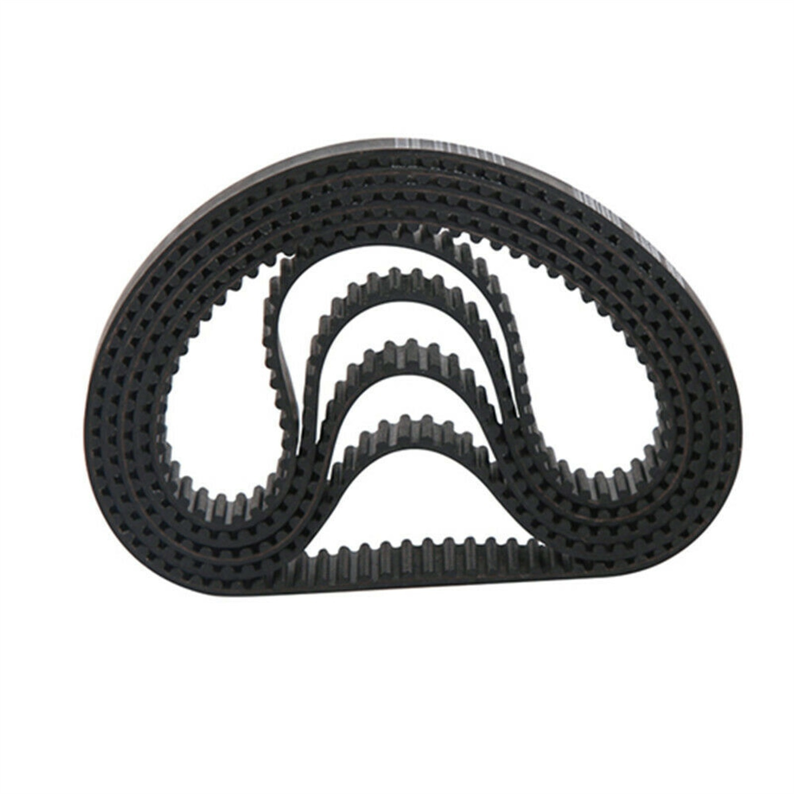 htd 3m timing belt width rubbe toothed belt closed loop synchronous belt pitch 5mm HTD 5M 370/375/380/385/390/395/400/405mm, Timing Belt Arc Teeth 5mm Pitch For 15mm Width, Rubber Drive Belt  Synchronous Belt