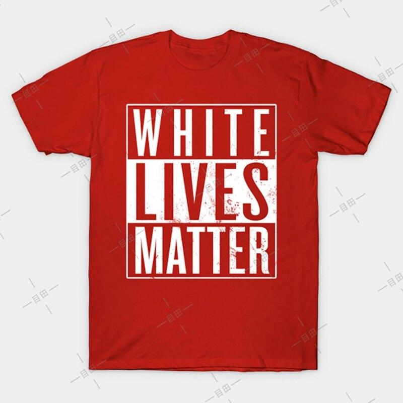 White Lives Matter T shirt activist political protest activism all lives matter dont discriminate protester