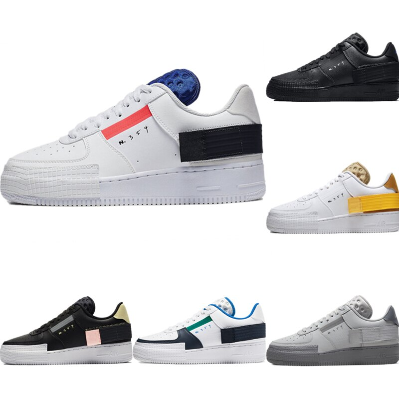 2020 AF1-TYPE Men Running Shoes White Black New Women Arrival Sneaker 2018 new arrival puma men s tsugi jun cubism sneaker badminton shoes size36 44