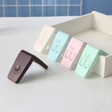 Plastic Baby Safety Protection From Children In Cabinets Boxes Lock Drawer Door Security Product