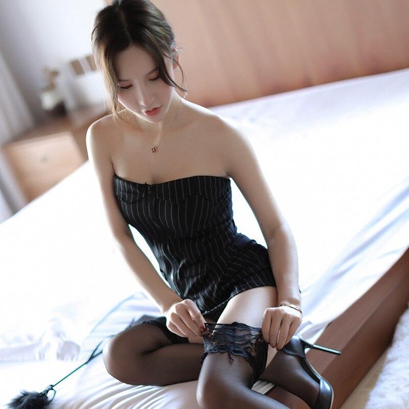 Ropa al por mayor explosión lencería Sexy uniforme de secretaria Sailor Teachers traje falda Sexy Secretaria