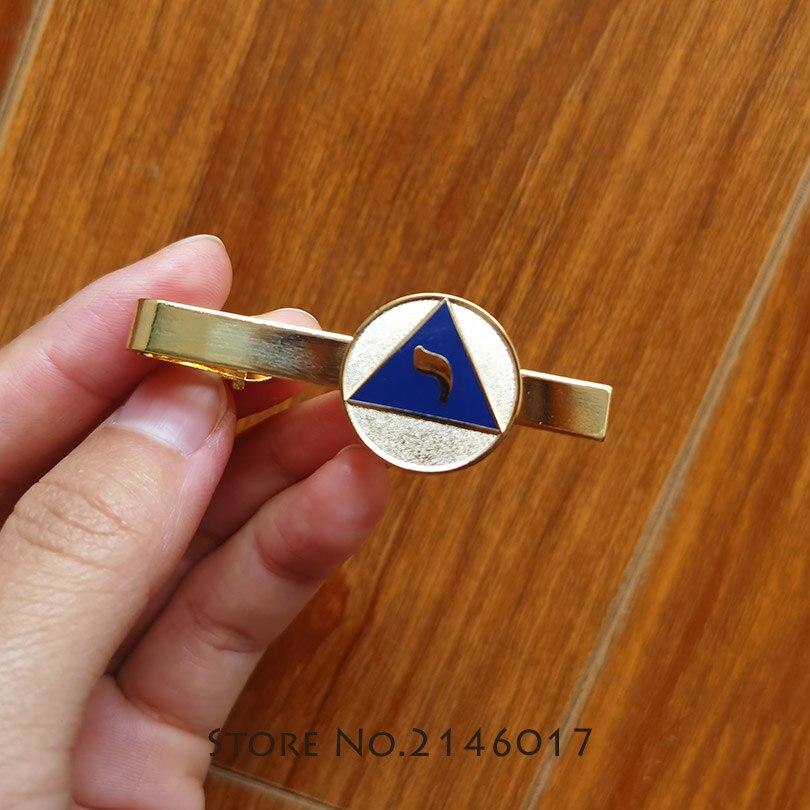 100 قطعة مخصص Freemason YOD لودج من الكمال المينا مشبك رابطة عنق كليب الماسونية 14th درجة طقوس الاسكتلندي الماسونية الماسونية المشبك