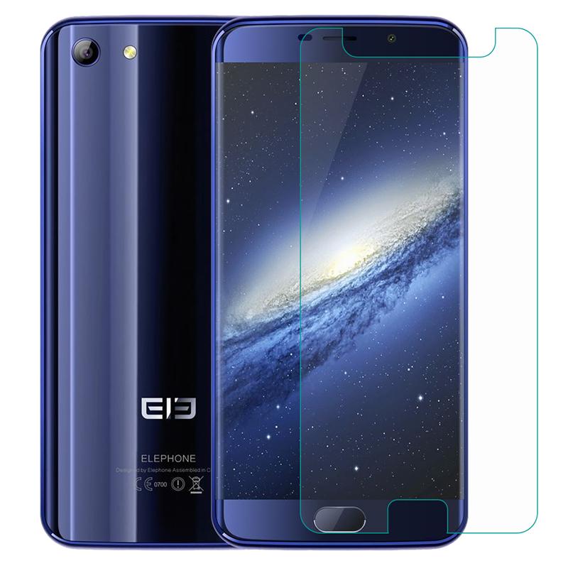 Para Elephone P8 3D Max U2 soldado A5 lite A4 Pro A6 Mini Protector de pantalla de vidrio templado Protector de pantalla cubierta