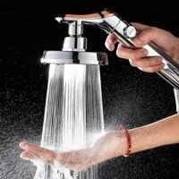 Pomme de douche de salle de bain pomme de douche reglable douchette a main haute pression economie deau un bouton pour arreter les pommes de douche deau E11795