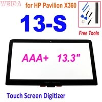 aaa 13 3 touch for hp pavilion x360 13s series 13 s touch screen digitizer replacement hp 13 s056nw 13 s003na glass panel