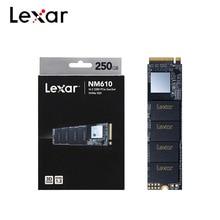 Lexar NM610 M.2 2280 PCIe Gen3x4 NVMe SSD 1 to 500GB 250GB disque SSD interne 3D NAND NVMe 1.3 disque dur pour ordinateur portable