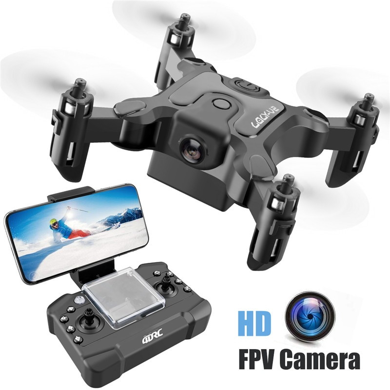 طائرة بدون طيار صغيرة مزودة بكاميرا عالية الدقة ، وضع تثبيت الارتفاع ، RC RTF ، WiFi ، FPVQuadcopter ، اتبعني ، أصدقاء ، لعبة ، هدية لطيفة