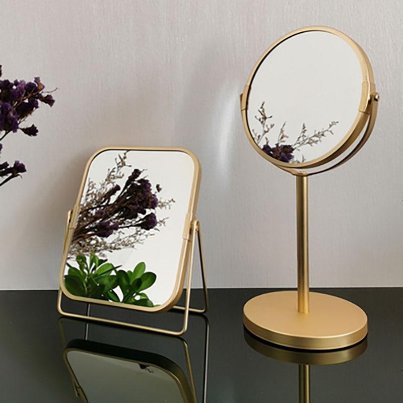 Espejo decorativo Miroir para decoración De Pared, Mural nórdico para dormitorio, oficina...