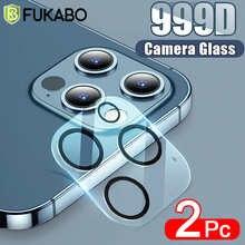 Закаленное стекло для камеры с полным покрытием для iPhone 12 Pro Max, пленка для экрана с полным покрытием для iPhone 12 Mini, черное Защитное стекло для ...