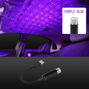 Car Roof Star Light Interior LED Starry Laser Atmosphere Projector for Chery A1 A3 Amulet A13 E5 Tiggo E3 G5 Jaguar XF XFL XE XJ