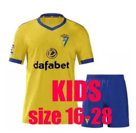 20 21 for children kits CaDIZ football Shirt 2020 2021 children CaDIZES Shirt football Shirt Jersey