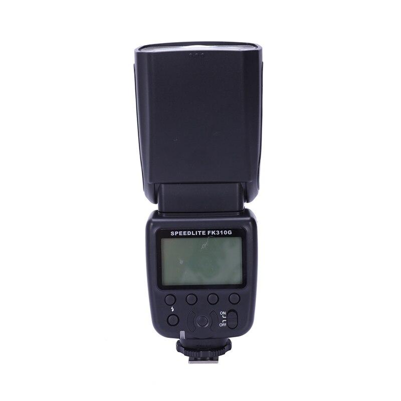 Flash Fk310G para cámara Digital Canon Eos, cámara Eos delantal, cámara Digital Nikon con Flash inalámbrico