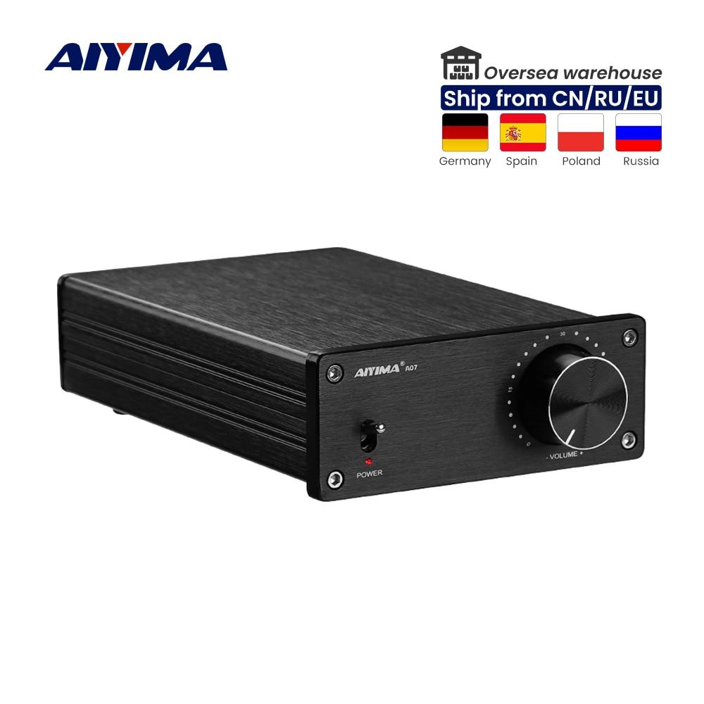 AIYIMA 2.0 الرقمية HiFi مكبر كهربائي الصوت 300Wx2 TPA3255 المسرح المنزلي فئة D مكبرات صوت ستيريو مكبر للصوت أمبير صغير