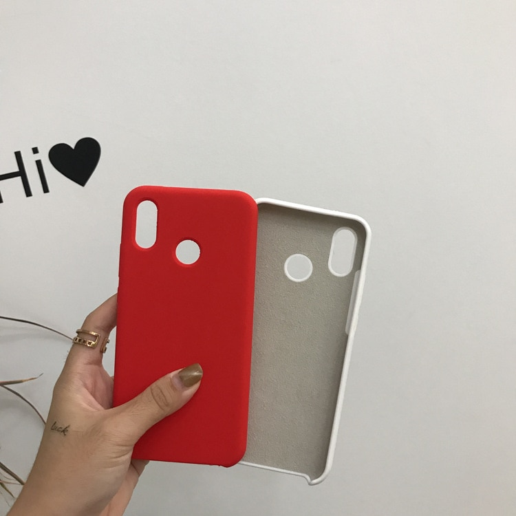 Suitable for Xiaomi 11 / 10s mobile phone case red rice K40 / K30 / note9pro / liquid silica gel solid color protective sleeve enlarge