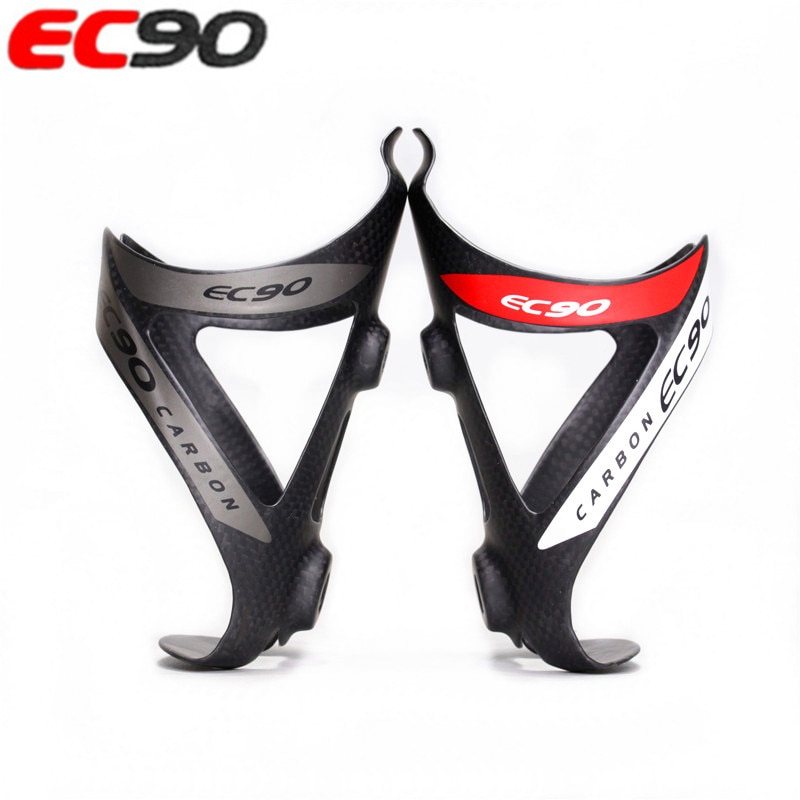 EC90 completo carbono fibra MTB Carretera soporte de botella de agua de bicicleta taza de agua de carbono jaula de bicicleta de montaña