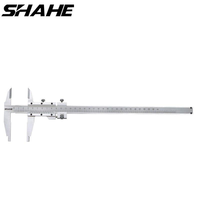 SHAHE 300 مللي متر 0.02 مللي متر الورنية الفرجار الفولاذ المقاوم للصدأ