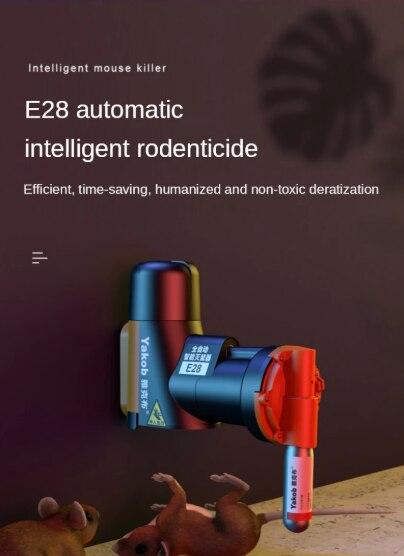 Trampa automática no tóxica para ratas y ratones, máquina de captura múltiple sin cilindros de CO2, Sma no tóxico enlarge