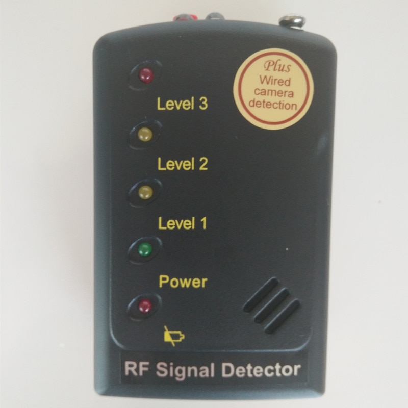 RF Signal Detector  superior sensitivity Anti Eavesdropping Device Full-range Wireless GPS Signal GPS BUG Signal Multi-Detector enlarge