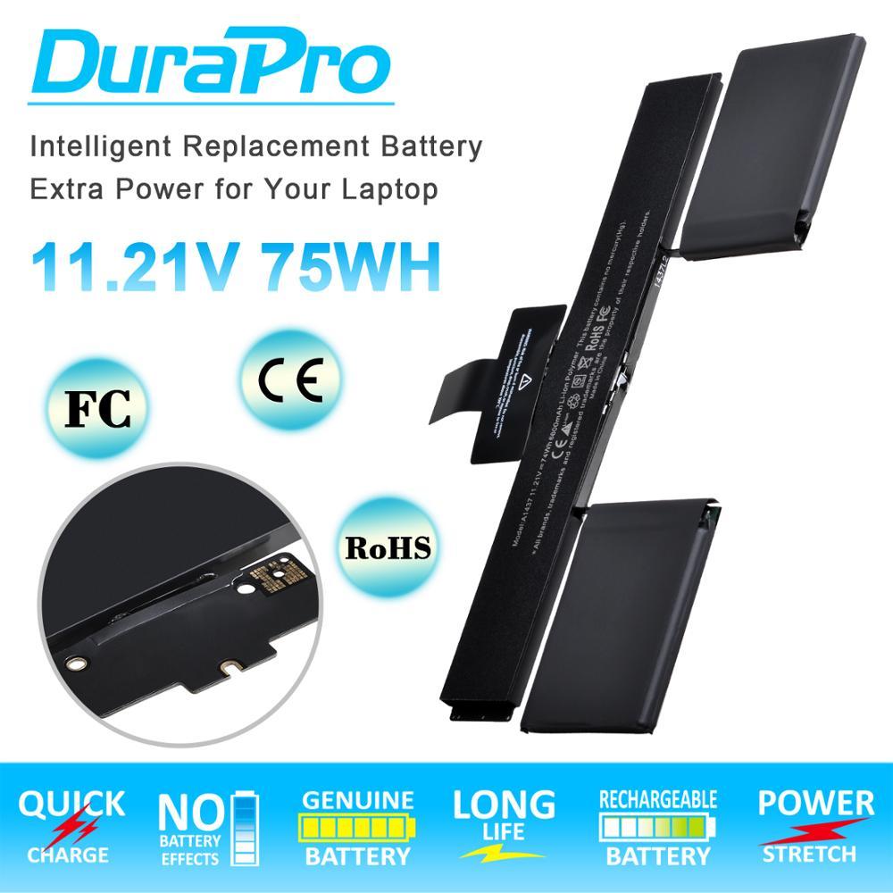 """Polímero de substituição da bateria 11.21 mah do portátil 6600 v a1437 para apple macbook retina 13 """"a1425 final 2012-início 2013 versão + ferramentas"""