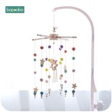 Bopoobo bébé Mobile suspendus hochets jouets liquidation boîte à musique cintre bricolage suspendu bébé berceau Mobile lit cloche support de jouet bras support