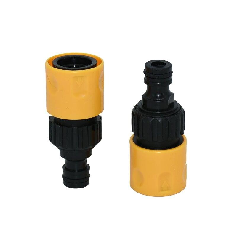 "5/8"" quick connector Telescopic nipple connector foam pot garden irrigation adapter 20set"