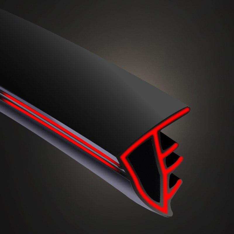 Actualización 1,6 M tablero de coches tiras de sellado pegatinas aislamiento acústico tira de goma para BMW x1 x3 x5 e53 e70 f15 x6 e46 e60 e39