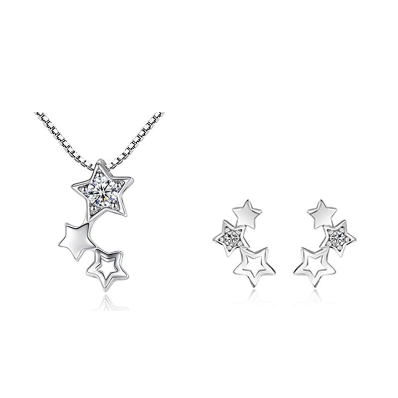 Женский-комплект-украшений-meyrroyu-ожерелье-и-серьги-из-серебра-925-пробы-с-цирконом-и-звездой-в-Корейском-стиле-аксессуары-для-помолвки-вечер