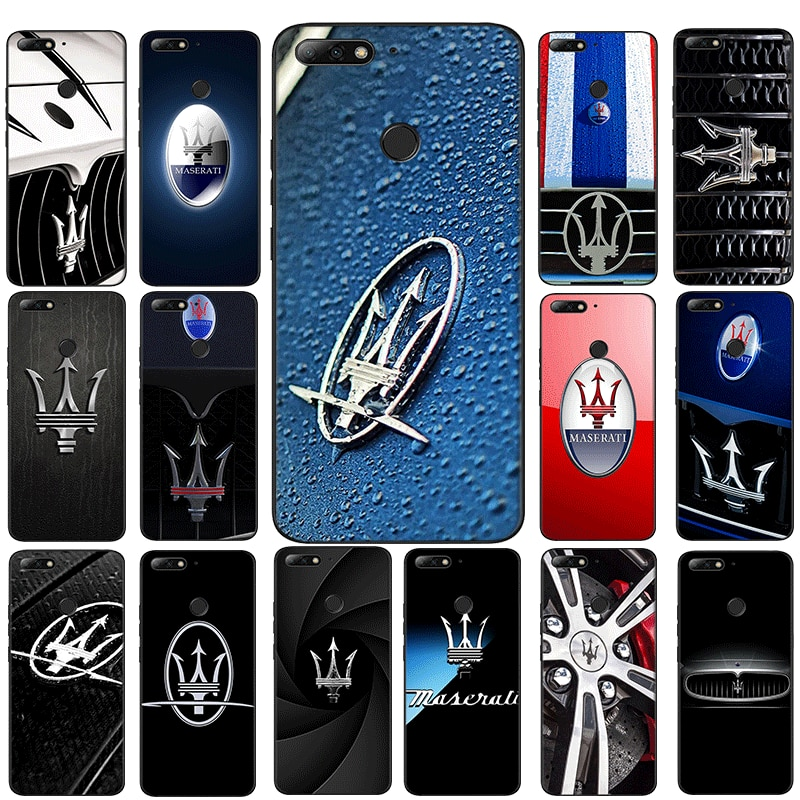 maserati super Cars Mobile Phone TPU Case for Huawei Y6 Y6 Prime Y7 Prime Y9 Y9 Prime Y6P Y7A Y9A Cover