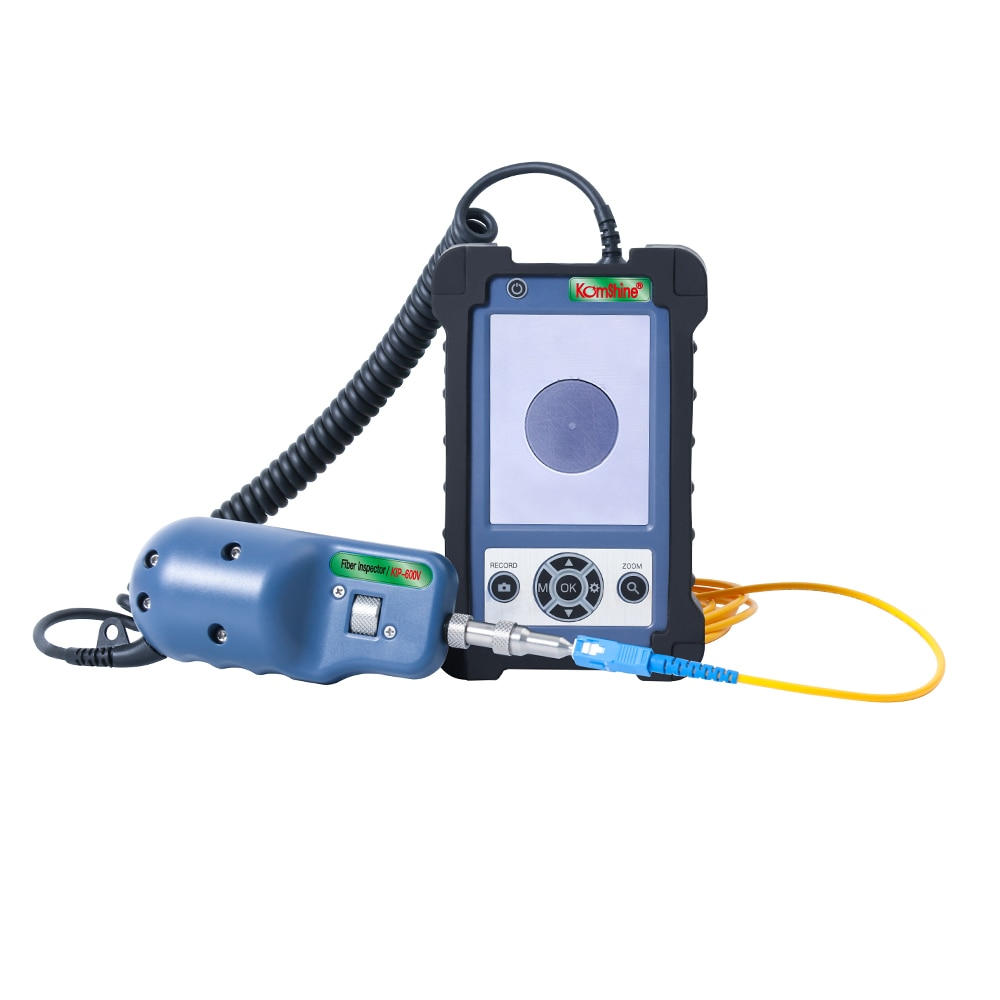 Fiber Video Inspection Probe and Microscope Optic End Face Inspection Fiber Connector Detector Microscope
