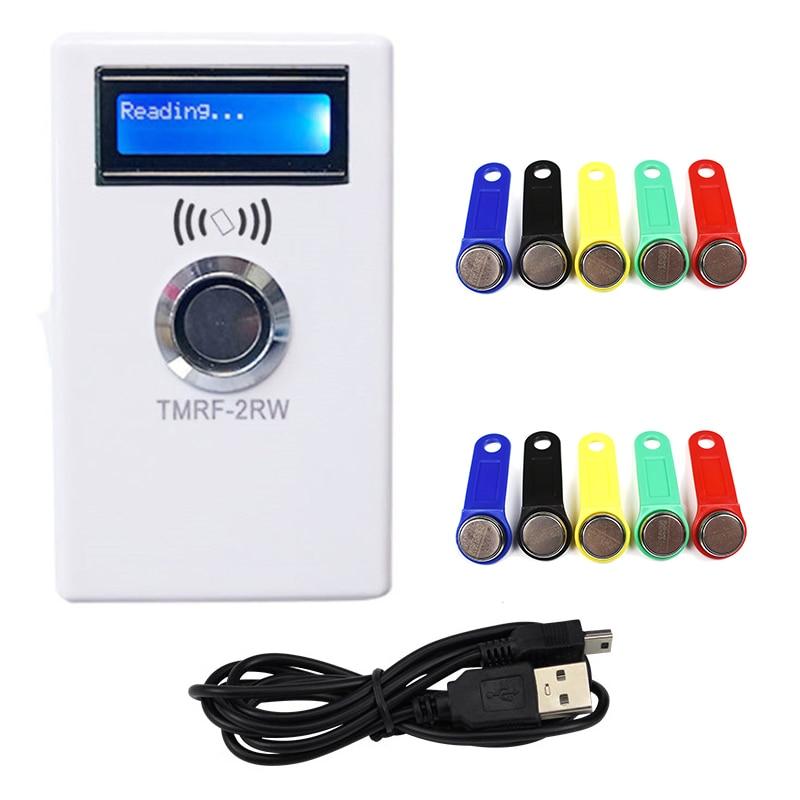 جهاز برمجة أزرار التبديل, جهاز نسخ 125 كيلو هرتز موديل T5577 قارئ RFID كتابة RW1990 رمز مفتاح RFID/TM ناسخ Keyfob
