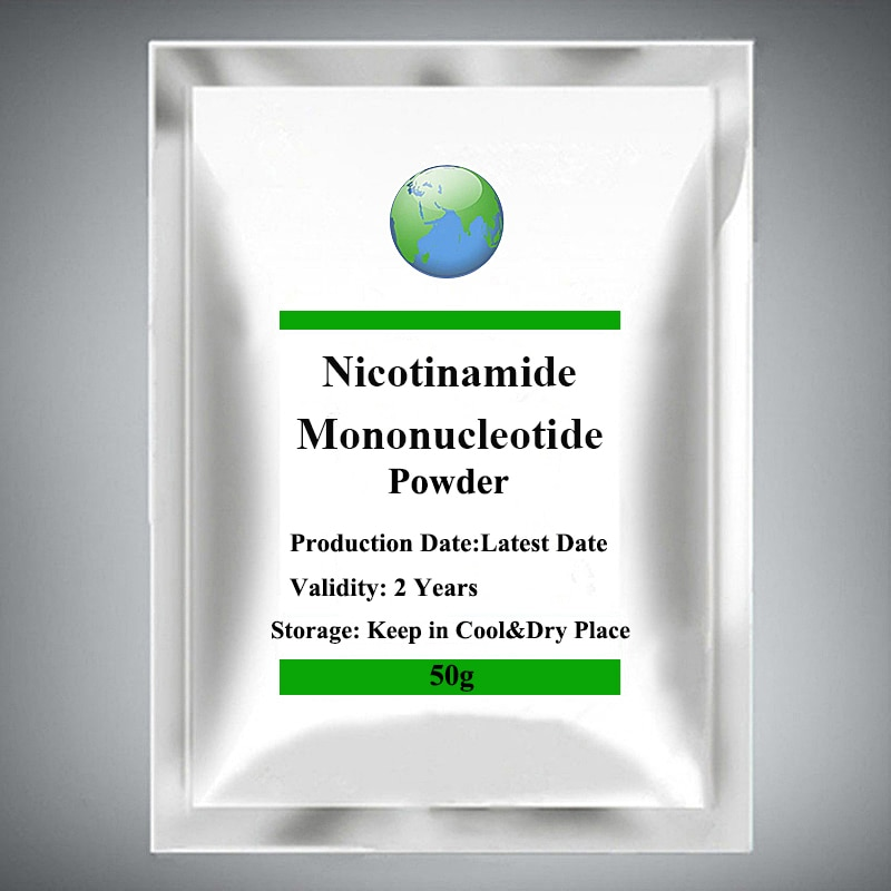 99% NMN Nicotinamide Mononucleotide hot sale 99% nicotinamide mononucleotide nmn powder 1pc festival nutrition supplement skin body face gloss nicotinamide riboside