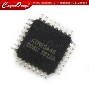 5pcs/lot ATMEGA48-20AU ATMEGA48-20 QFP-48 ATMEGA48 In Stock
