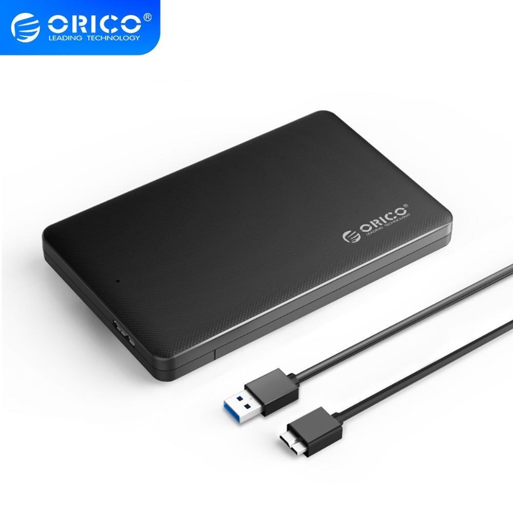 ORICO 2,5 дюймов корпус для внешнего жесткого диска sata usb 3,0 Корпус для внешнего жесткого диска ssd-адаптер для samsung Seagate корпус SSD, hdd внешний жесткий диск коробка