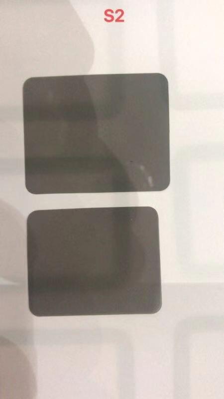 Película adhesiva polarizadora lcd para iwatch Series 1/2/3/4, filtro LCD, película polarizante, pegatinas polaroider