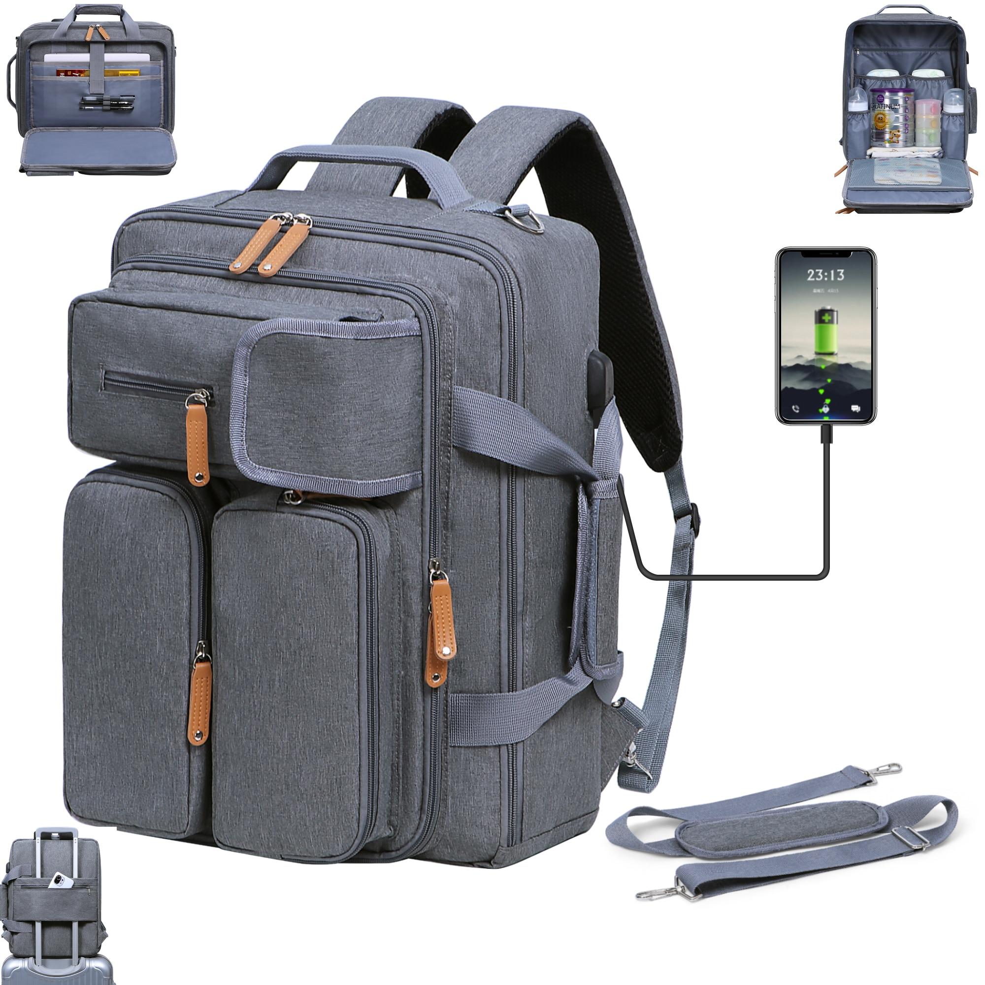 2021 Travel Women Backpack For Baby Care Large Capacity Mummy Nursing Backpacks Portable Daddy Mother Tote Bag Shoulder Handbag недорого