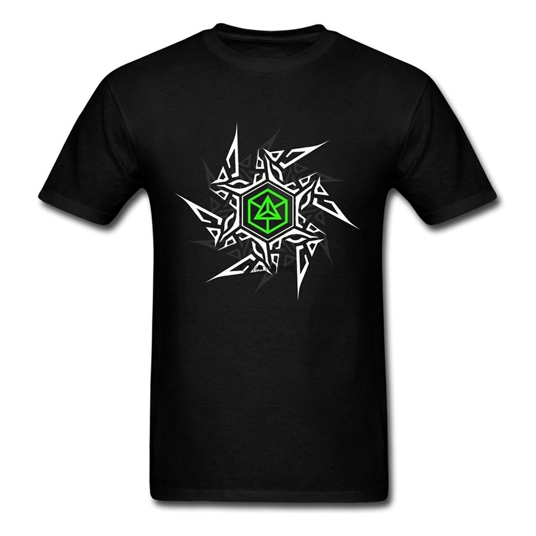 Camiseta cómoda para hombre de ropa con póster iluminado de juego en...