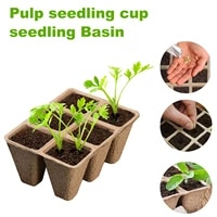 1020pcs seed starter tray biodegradable trays plant pots garden seed growing tray vegetable seed sprouting tray nursery cup