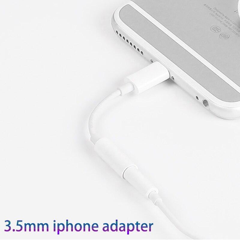 Adaptador de clavija de auriculares para Iphone 7, 8, 11, 12, 13, X, XR, AUX, para IOS, 11, 12, 13, 14 a 3,5mm