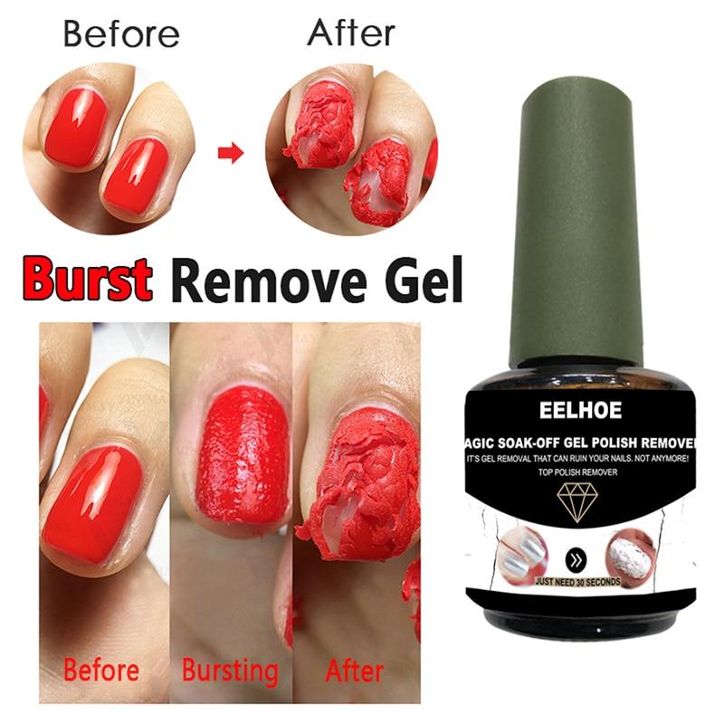 Gel Cleaner Gel-Remover Gel-Polis Nail Gel Polish Burst Magic 2min Fast Soak Off Sticky UV Polish Na