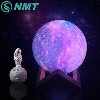 Цветные светодиодные лампы с 3D рисунком луны и звезд, прямые поставки, сенсорный светильник для домашнего декора, креативный подарок, ночни...