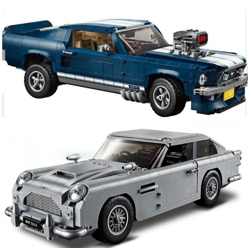 Creador Technic James Bond Aston DB5 juego de bloques de construcción bloques 007 coches modelo niños juguetes compatibles Lepining Technic 10262