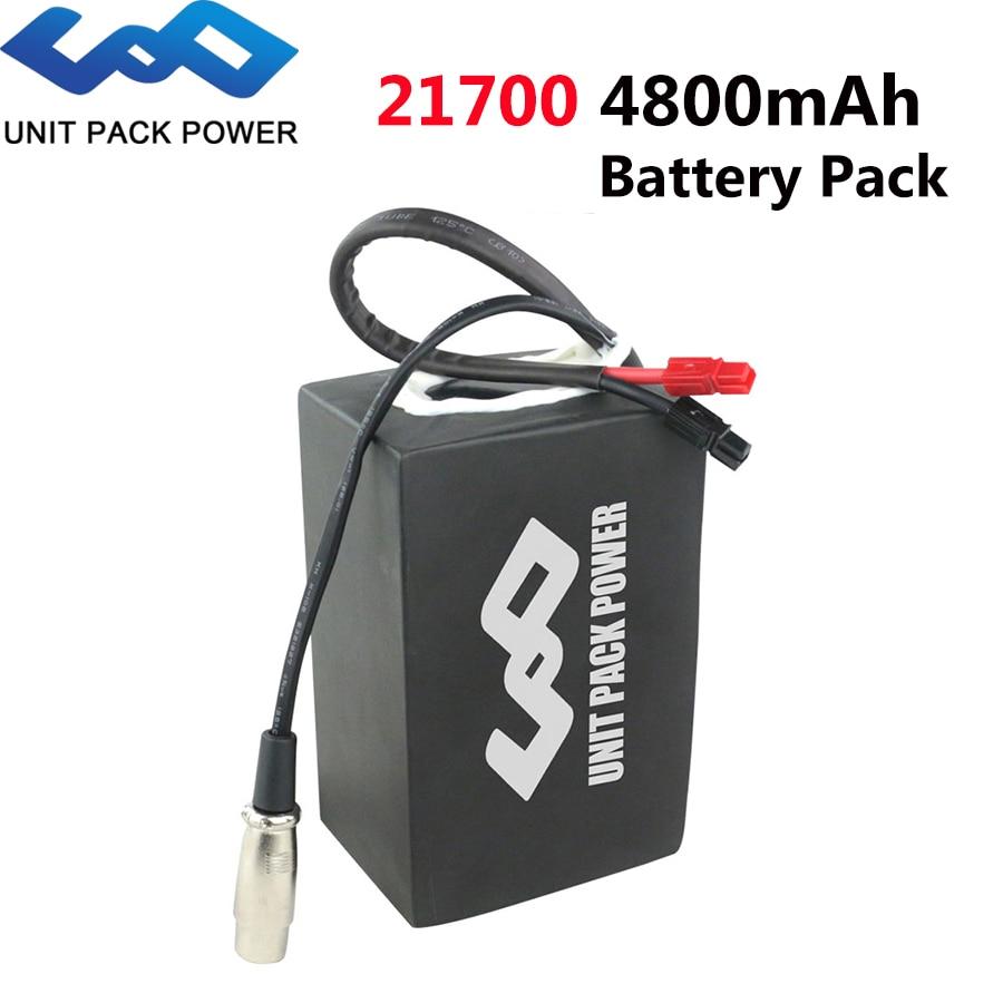 52V 24Ah 21700 خلية ليثيوم الكهربائية eScooter البطارية حزمة ل 52 48 فولت 2000W 1500W 1000W 750W 500W بافانغ CSC للدراجات النارية موتور