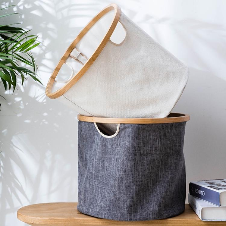 كبير قماش حقيبة الغسيل المنظم أضعاف الشمال الملابس الداخلية الجوارب حقيبة الغسيل s الملابس القذرة lavederia المنتجات المنزلية DG50LB