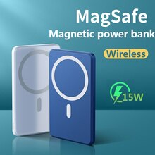 NEW 2021 Power Bank 15W Magnetic Wireless Fast Charger For magsafe  Mobile Phone battery For iphone
